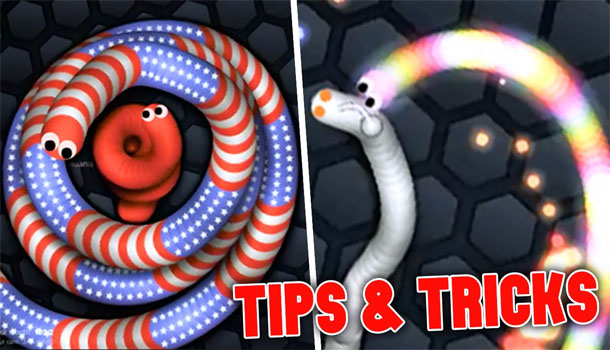 Slitherio Tips Tricks